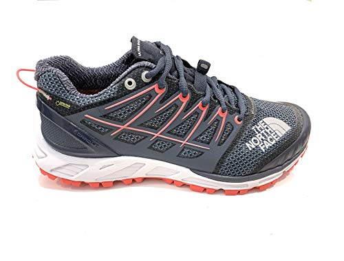 The North Face Trail Running Ultra Endurance II GTX-Vibram (36.5 EU, Grisaille Grey/Coral)
