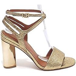 What For 219 Pumps Sandale Damen Gold 39