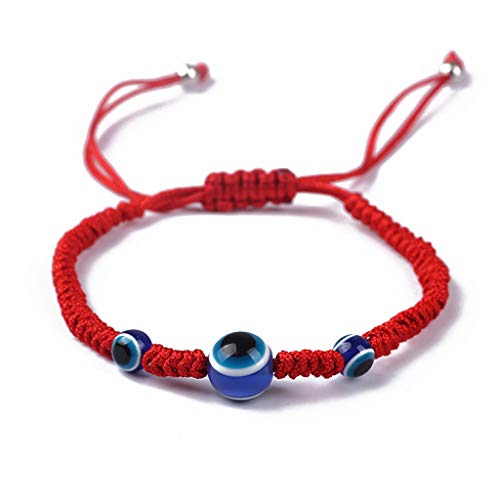 8f200a7a65c9c LDA GET Fresh Blue Evil Eye Kabbalah Red String Bracelets Adjustable  Fashion Jewelry Unisex Eye red Rope Bracelet