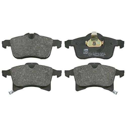 Preisvergleich Produktbild febi bilstein 16491 Bremsbelagsatz (vorne, 4 Bremsbeläge u.a. für Opel Astra, Corsa, Meriva, Zafira))