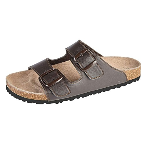 Stylos Mens Synthetic Leather Slippers