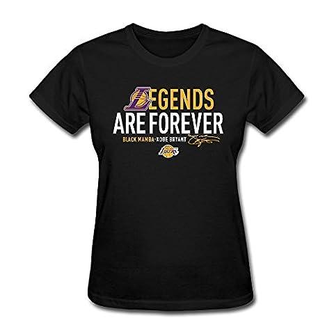 T&Tat Women's Los Angeles Lakers Kobe Bryant Legend Forever T-shirt Tee XX-Large