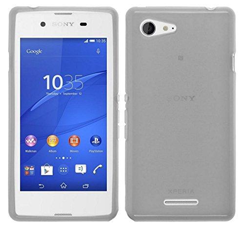 TBOC® Schwarz Gel TPU Hülle für Sony Xperia E3 D2202 D2203 D2206 D2243 Ultradünn Flexibel Silikonhülle