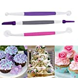 3 Pcs Fondant Cake Decorating Sugarcraft...