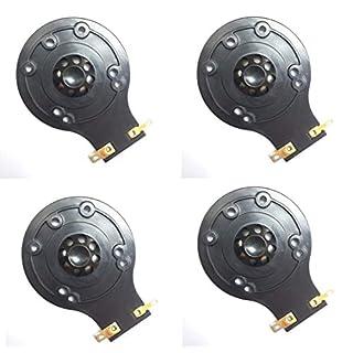 FidgetGear JBL 2412H-1 DIAPHRAGM 24,8 mm Aftermarket JBL 2412H-1 DIAPHRAGM mit Kunststoff-ASSY/4 Packungen