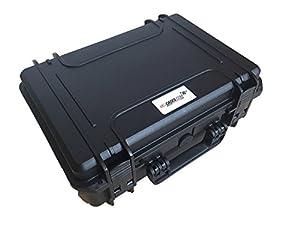 Valise de transport pour DJI googles (montées) et DJI Mavic avec un espace pour 4 batteries et accessoires fait pour MC Cases - Made in Germany - valise outdoor - IP67 étanche à l'eau!