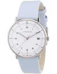 Junghans Damen-Armbanduhr XS Max Bill Analog Quarz Leder 047/4254.00