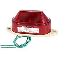 sourcing map Industriell LTE-5051 AC 220V Blinksignal Signallampe Signallicht Warnlampe rot DE
