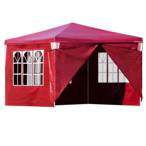 ultranatura-pavillon-malta-gartenzelt-inkl-4-seitenteilen-300-x-300-cm-rot