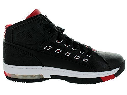 Ol école Mens Style: 317223-104 Taille: 8 M-nous Black/White/Gym Red