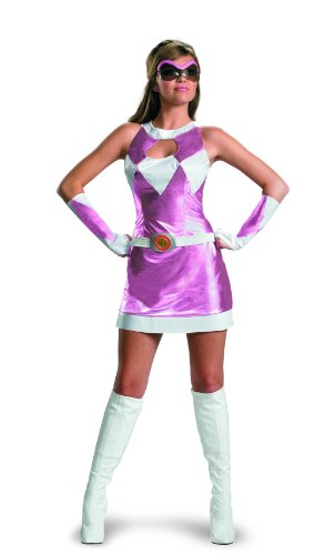 Ranger Kostüm sexy womens Halloween, Large (Womens Power Ranger Kostüm)