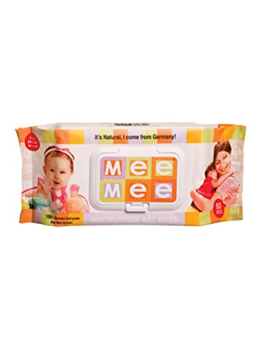 Mee Mee Mutlipurpose Baby Wet Wipes (80pcs)  available at amazon for Rs.199