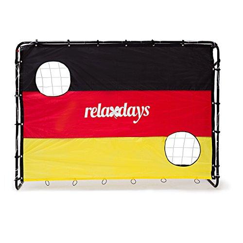 Relaxdays Fußballtor mit Torwand HBT 150 x 210 x 75 cm, Deutschland, M, 10020023 - 3