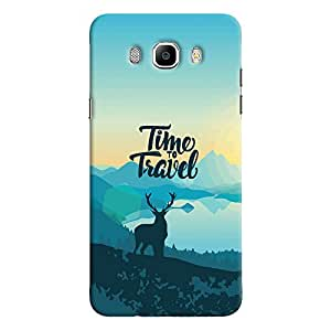 ColourCrust Samsung Galaxy J7 (2016) Mobile Phone Back Cover With Travel Quote Travellers Choice - Durable Matte Finish Hard Plastic Slim Case