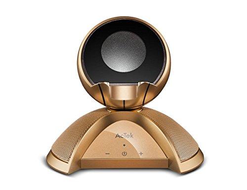 AcTek Bluetooth Lautsprecher mit Handy Halterung Stände, Basketballdesign