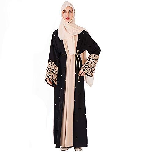 Moojm Vestidos islámicos Mujer Vestidos Musulmanes