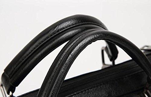 Weibliche Beutel-Schulter-Beutel-Handtaschen-Art Und Weise Boston-Handtaschen-Art- Und Weisegroßer Beutel Black
