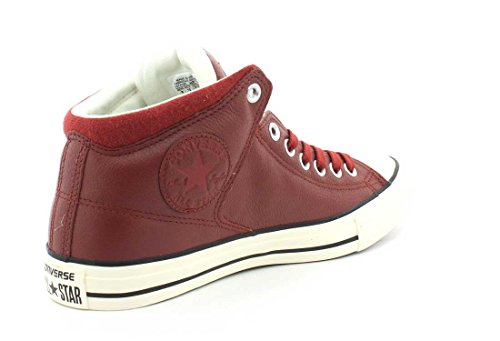 Converse Mens Chuck Taylor All Star High Street Hi Leather Trainers Terra Red Barato Descuento Del Distribuidor Geniue Comprar Descuento Grande Barato NUpHY