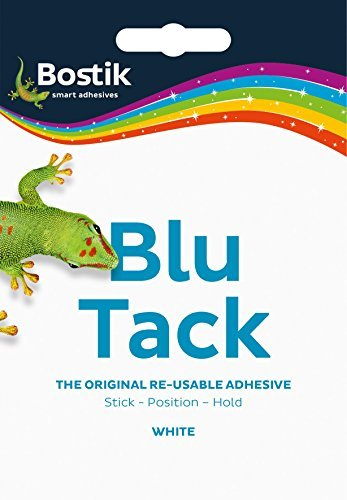 Mastic Putty Adhesive Non-toxic White 60g Ref 801127 by Bostik ()