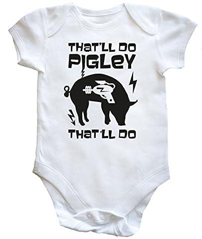 HippoWarehouse - Maillot de corps - Bébé (garçon) 0 à 24 mois - blanc - 18 mois