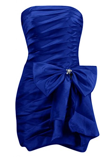 Sunvary nuovo stile Bridesmaid vestiti da sera-Cerniera con collo a V Bianco