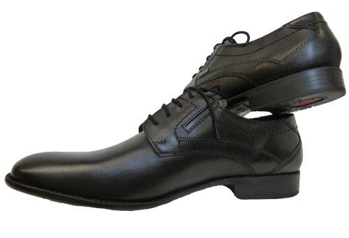 bugatti  Gasparo, Chaussures de ville à lacets pour homme Noir - Noir