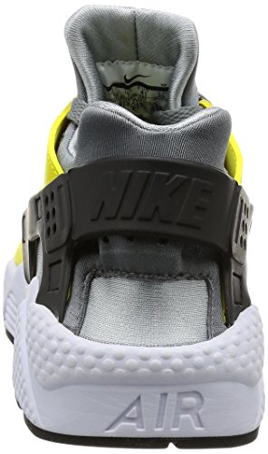 Nike Air Huarache Unisexe Adulte, Synthétique, Baskets Basses Gris