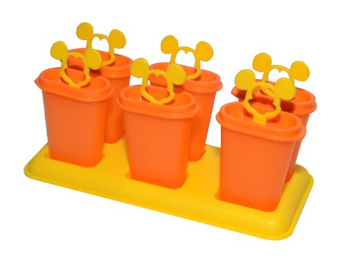Tupperware Mickey Ice Tup Set, 50ml, Set of 6