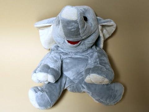 Inatura - CB Eléphant - Doudou Chauffant - Cherry Belly - Eléphant