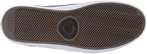 C1RCA Gravette, Baskets Basses Mixte Adulte Brick-White