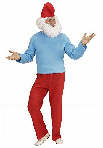 Widmann 02372 - Erwachsenenkostüm Großer Zwerg, Kasack, Hose und (Baby Gnome Halloween Kostüm)