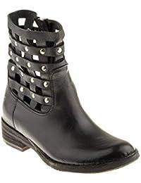d4ca76c24b Felmini Zapatos Para Mujer - Enamorarse com Gardenia A957 - Botas Cowboy &  Biker - Cuero