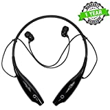 Forestone HBS730 Bluetooth Earphone Headset with Retractable Earphone Design, Handsfree for Redmi, iPhone