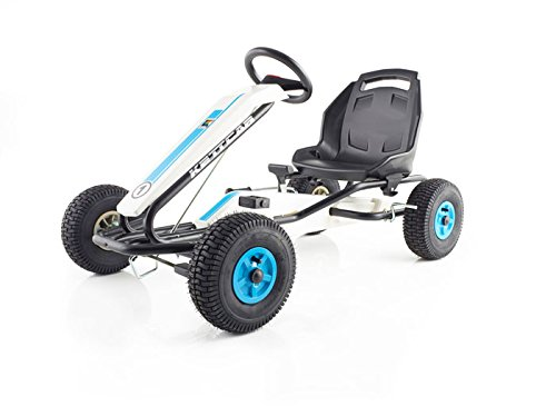 Preisvergleich Produktbild KETTLER Kettcar Dakar Air Blau T01050-5010 Gokart