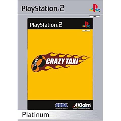Crazy Taxi Platinum Ps2 Uk