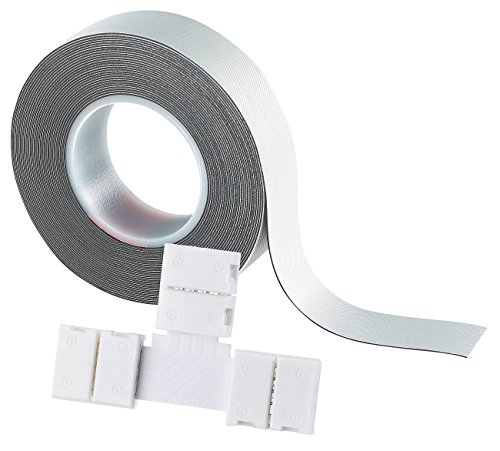 Lunartec Zubehör zu LED Strips: T-Verbindungsstück für LED-Streifen Serie LC, IP44 (LED Lichtbänder)