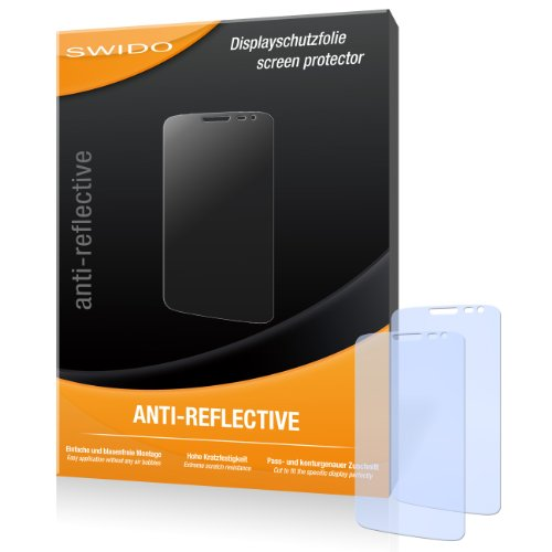 SWIDO Bildschirmschutz für LG G2 Mini [4 Stück] Anti-Reflex MATT Entspiegelnd, Hoher Härtegrad, Schutz vor Kratzer/Glasfolie, Schutzfolie, Bildschirmschutzfolie, Panzerglas Folie