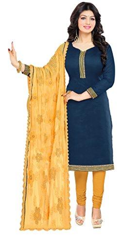 Parinaaz Women's Crepe unstitched salwar suit Dress Materiala Dress Material