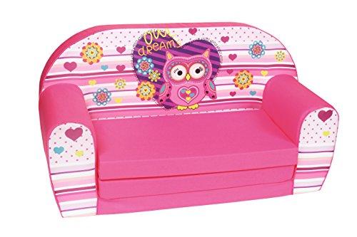 knorr-baby 430313 Eule Sophie, rosa