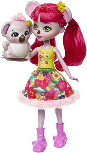 Enchantimals Echantimals Muñeca Karina Koala, Multicolor, (Mattel GmbH FNH24)