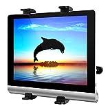 Tablet Halterung Auto, 7-12 Zoll Verstellbare KFZ-Kopfstützen Tablet Halterung, 360 Grad-Drehung, Universal für iPad 2/3/4/Mini/Air, Samsung Galaxy Tab, DVD-Player und die Meisten 7-12 Zoll Tablets