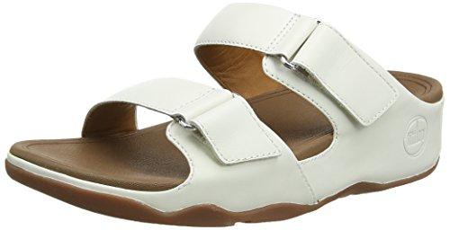 FitFlop Goodstock - Sandali da donna, colore bianco (Urban White), taglia 4 UK (37 EU)