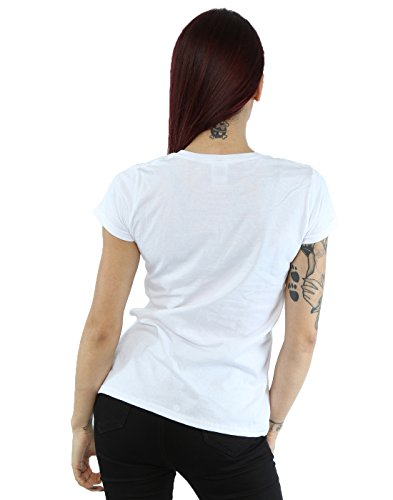 Disney Femme Zootropolis Party Animal T-shirt Blanc