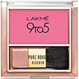 Lakme 9 To 5 Pure Rouge Blusher, Pretty Pink, 6 g
