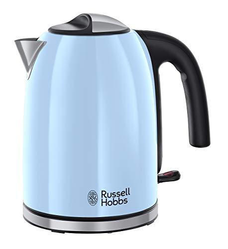 Russell Hobbs Colours Plus+ Hervidor, 2400 W, 1.7 litros, Azul