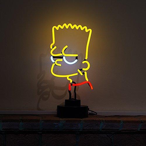 teenager-childrens-bedroom-club-nightclub-bar-pub-table-lamp-bart-simpson-icon-neon-neonetics-real-n
