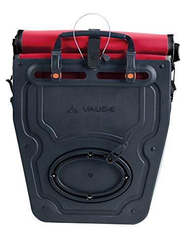 Vaude Radtasche Aqua Back Red/Black