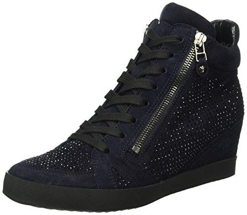 Kennel und Schmenger Schuhmanufaktur Soho 41-50010-558, Sneaker donna, Blu (Blau (ocean/black Sohle schwarz 488)), 36