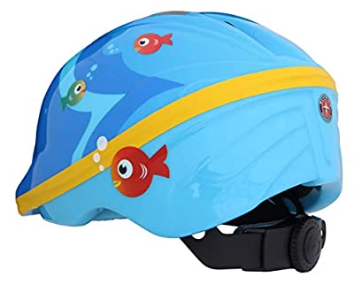 Schwinn Boys Fish Toddler Helmet, Blue, XS/S by Pacific Cycle