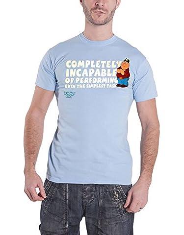 Family Guy T Shirt Peter Griffin Completely Incapable nouveau officiel Homme
